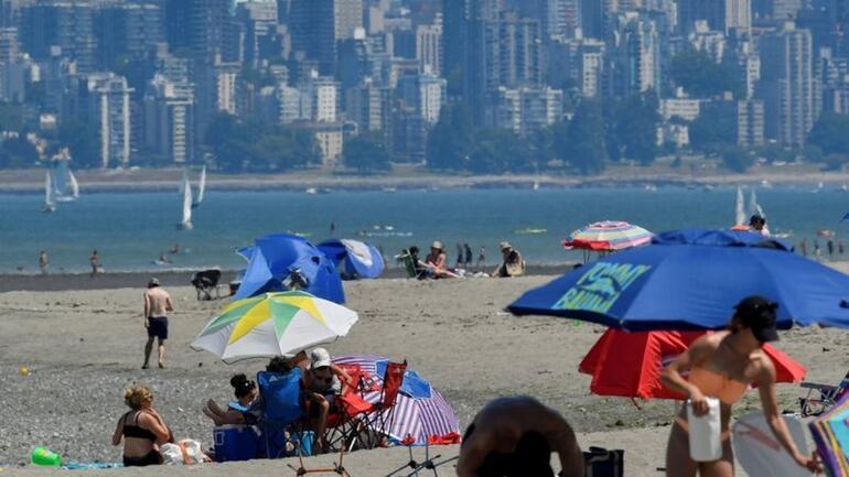 Kanadada rekor sıcak hava dalgasında onlarca kişi öldü, ABDde asfalt eridi