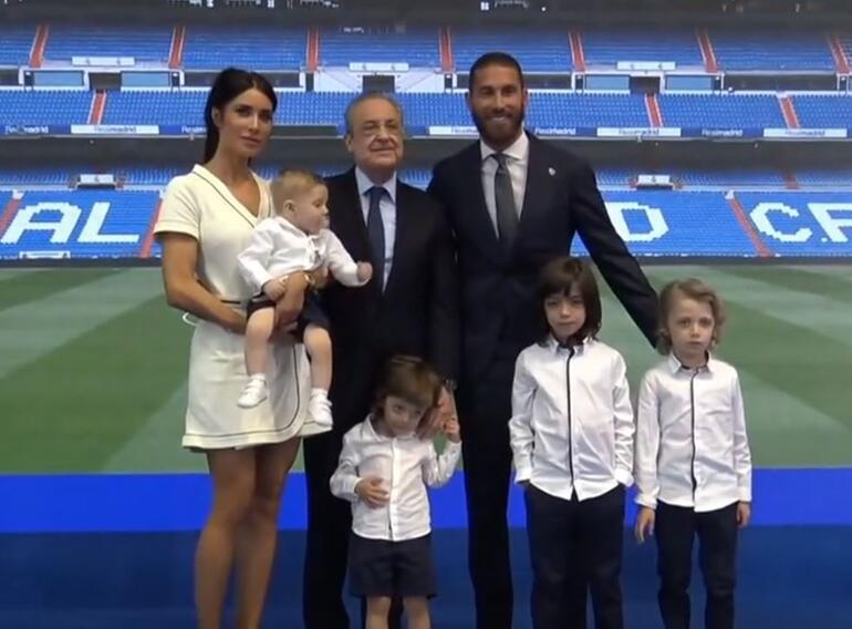 Son dakika: Real Madride veda eden Sergio Ramos gözyaşlarını tutamadı